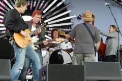 Sonny Hunt & The Dirty White Boys op Highland Bluesfestival