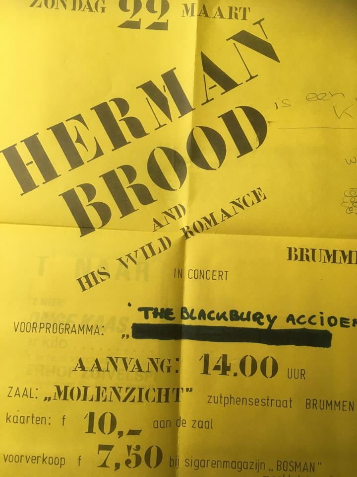 Poster Herman Brood
